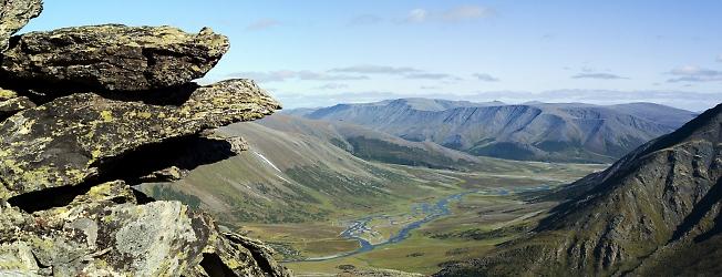 Хадата. Вид с высоты около 500 м.