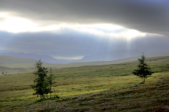 Разрывы облаков