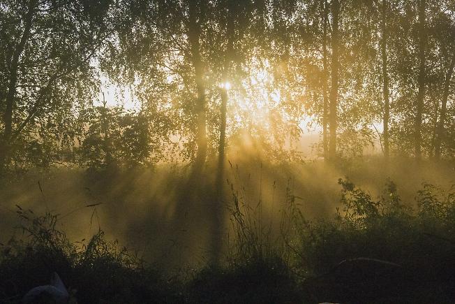 Восход солнца на Киржаче