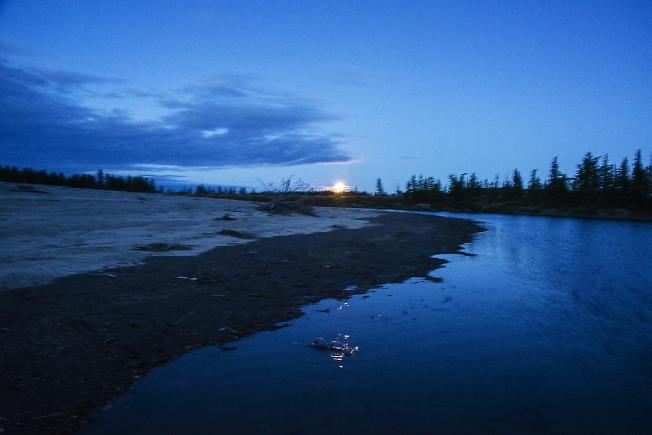 Лунный вечер