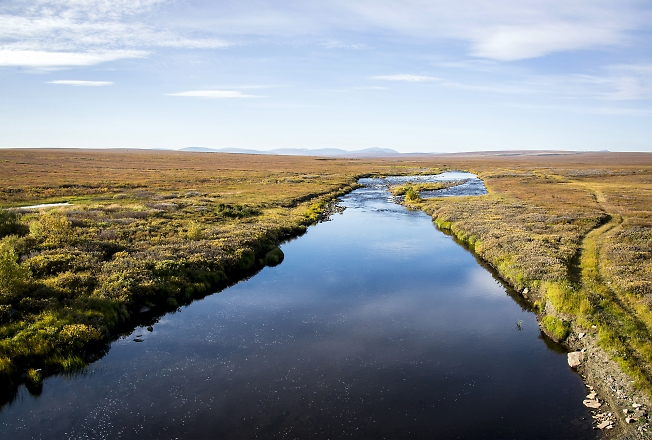 Река Лаптаёган