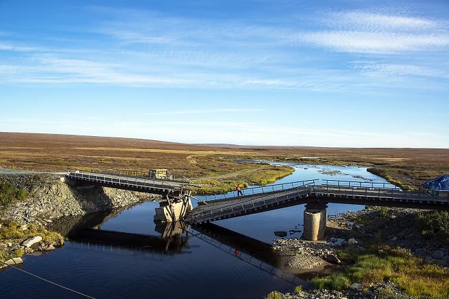 Мост через Лаптаёган