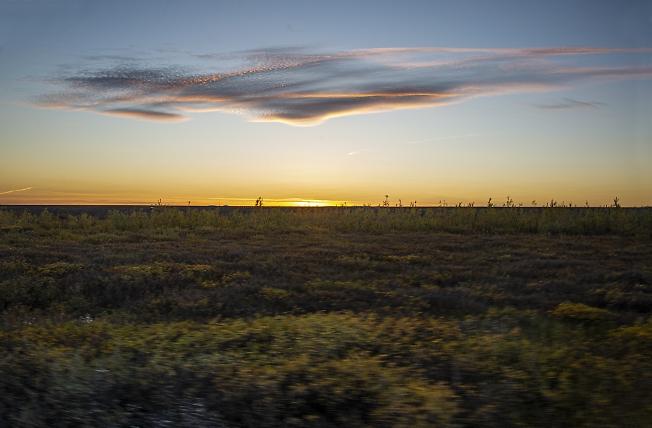 Закат над тундрой 2