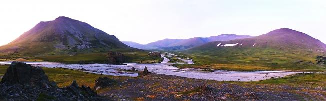 Долина Северной Чигимхаруты. Вечер