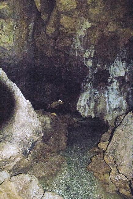 В Красной пещере