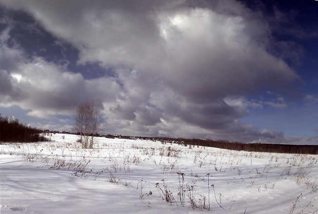 Приближение снега