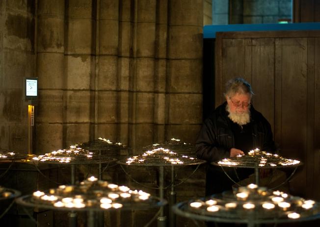 В Соборе Парижской Богоматери...