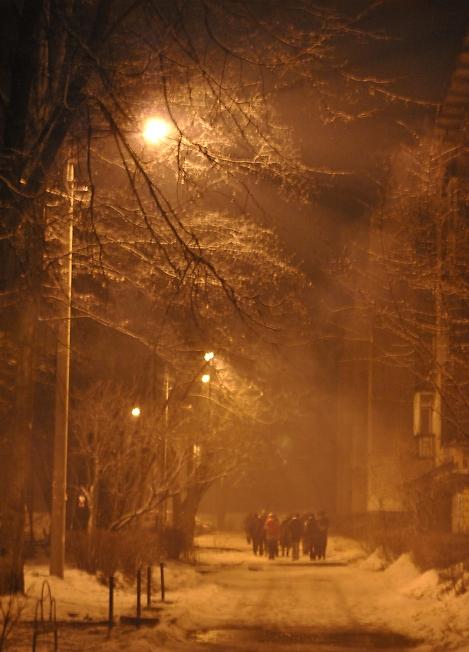 В новогоднюю ночь)