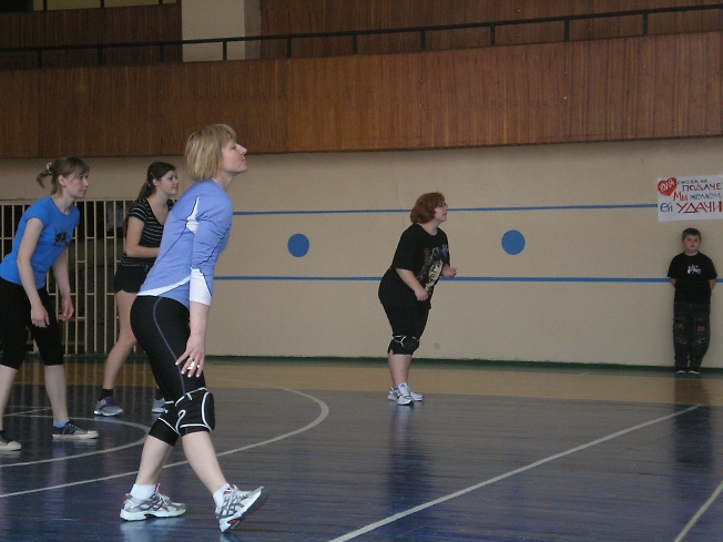 Волейбол на Луче.