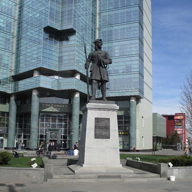 Памятник гвардейцам Семёновского полка