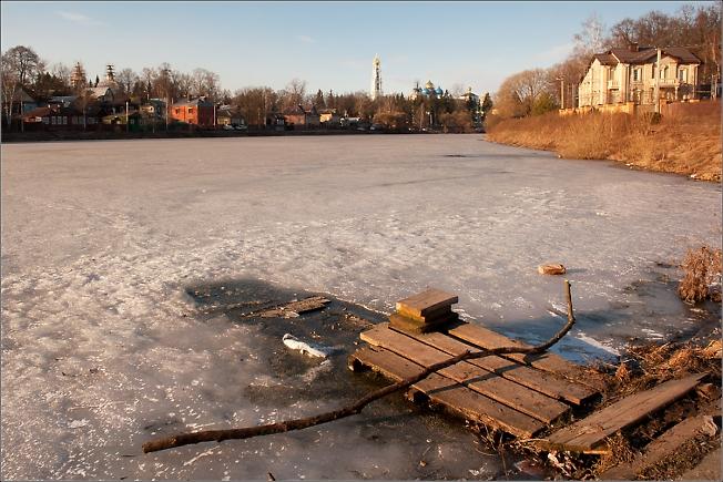 Март на Келарском пруду