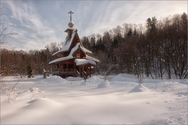 Снежная зима на Гремячем