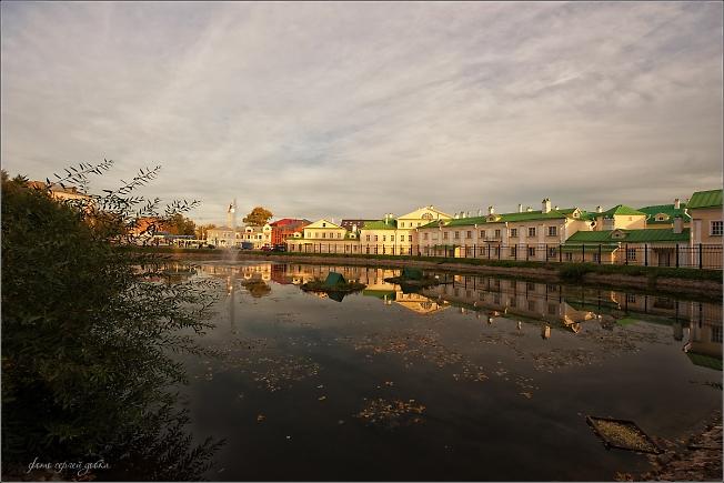Ранней осенью на Белом пруду