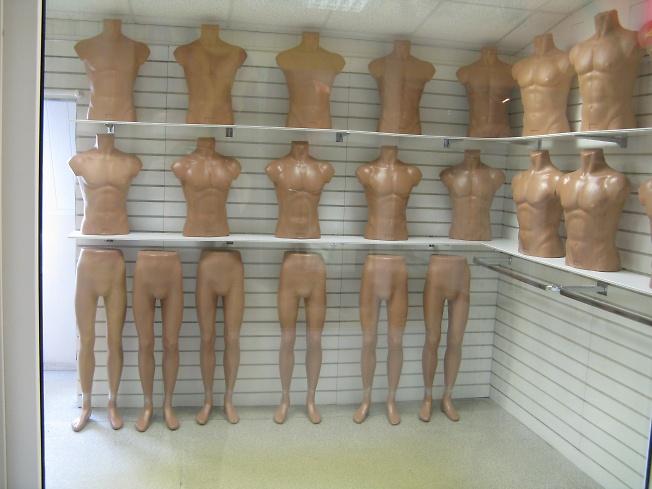голый магазин