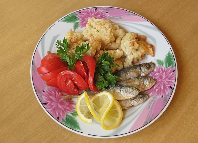завтрак в Крыму)
