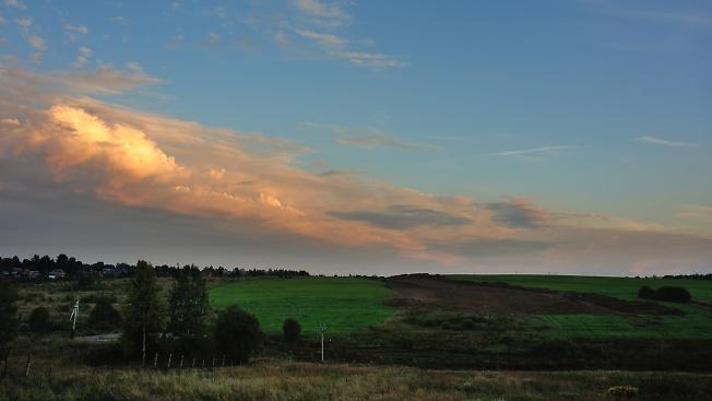 Облака VS дорога