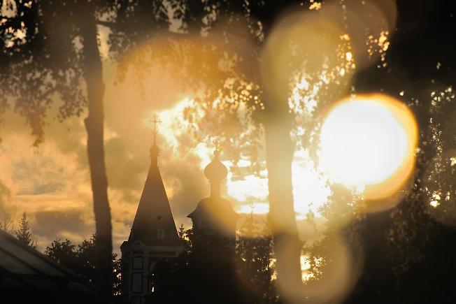 Последние лучи июльского солнца