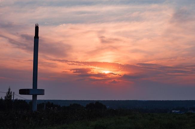 Последний закат лета у Хотьково
