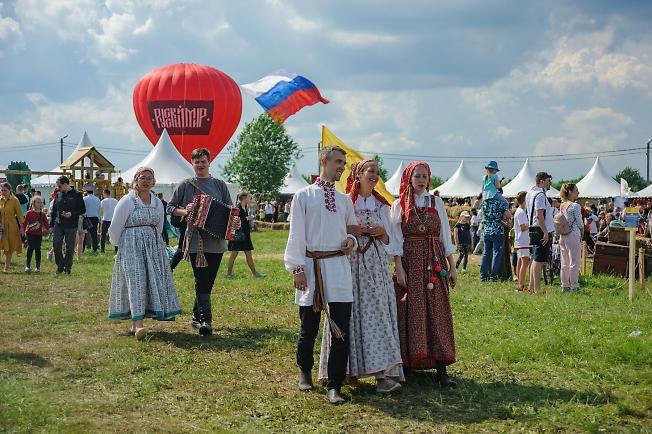Русский мир. кадр из репортажа
