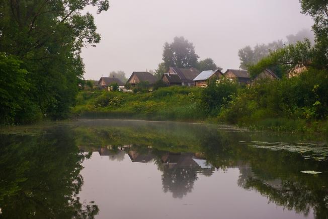 Утро в деревне