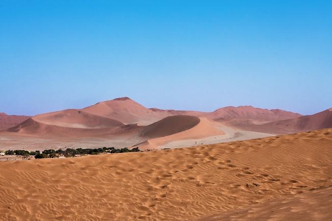 В пустыне НОМИБ!