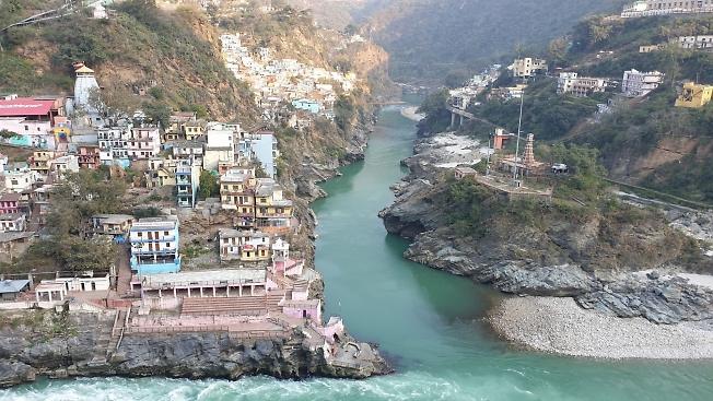 Образование Священной Реки Ганг Индия