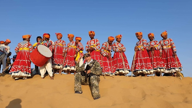 Недалеко от Пакистана. Индия. Штат Раджастан