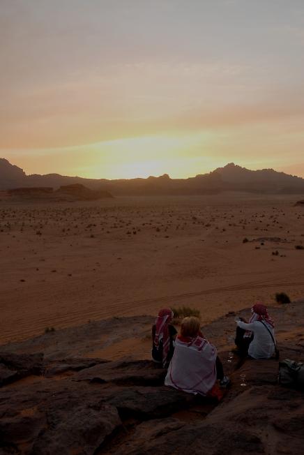 Иордания(Закат солнышко по Иордански)