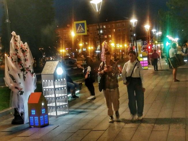 Музыка вечернего города