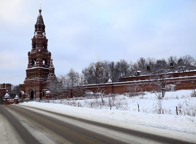 Дорога в Скит.
