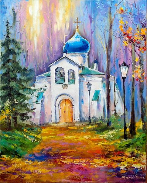 Абрамцево,Спасская церковь