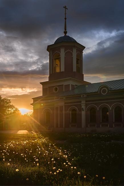 Тихвинская церковь. Большое Жоково, Рязанщина.