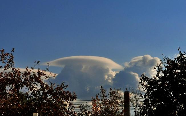 Облако - гриб