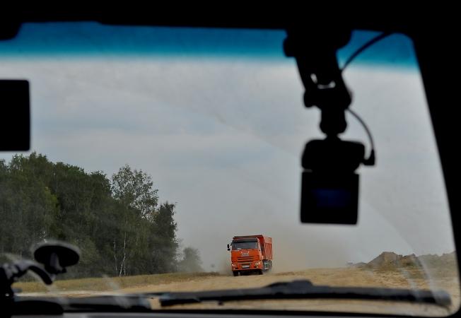 Пыльная дорога на Гремячий