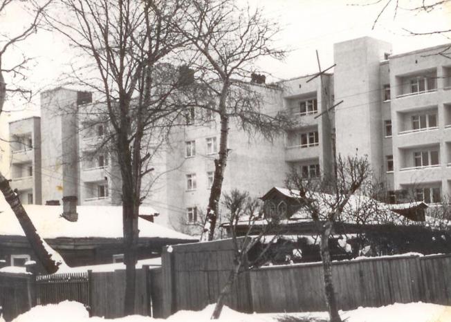 На улице Болотной, 1977 год