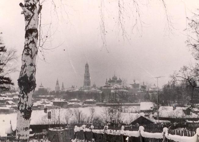 Вид на Лавру со стороны Келарского пруда