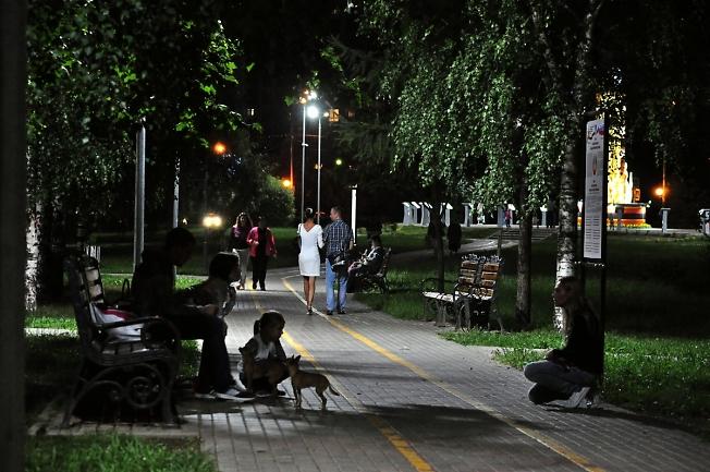 Вечер на Бульваре Кузнецова