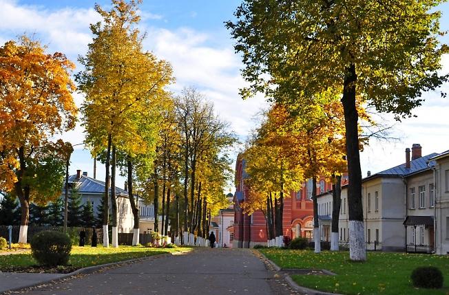 В Хотьковском монастыре