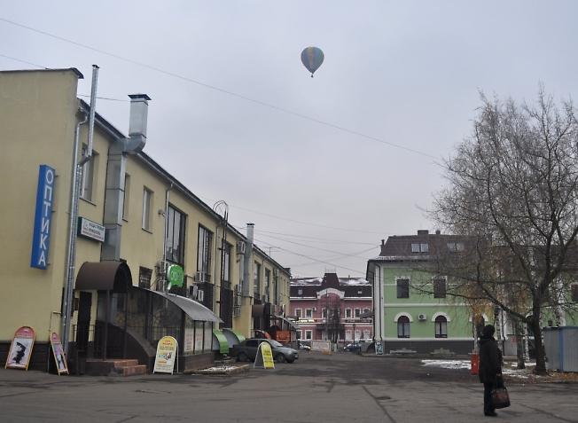 Сегодня шарик летал