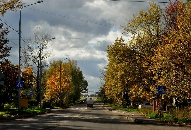 По улице Загорского