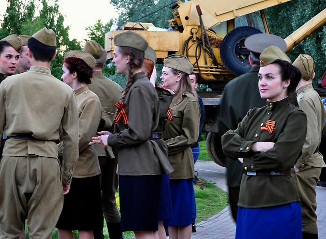 Участники концертной бригады из г. Ярославля.