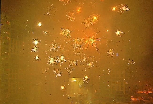 Новогодний фейерверк