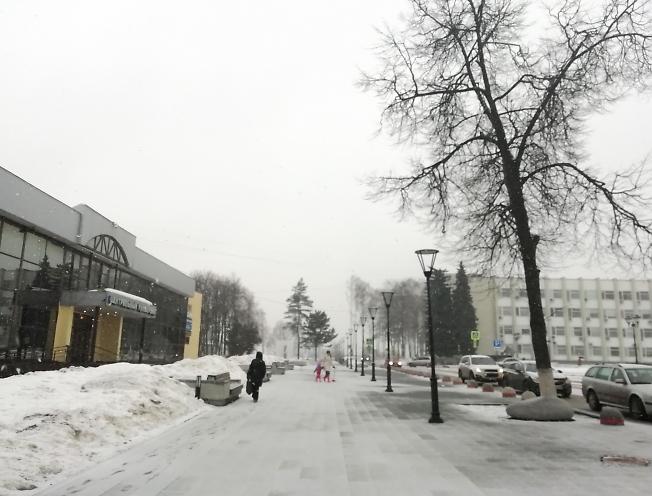 Снег наступает.... снова...