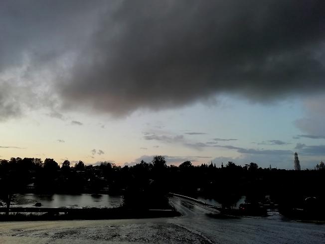 Фото после... Полил дождь