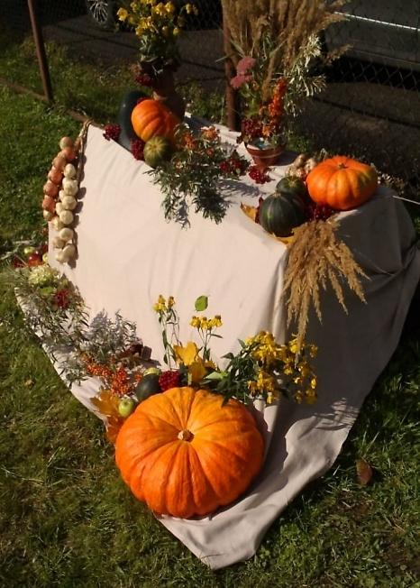 Осенний натюрморт на празднике