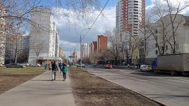 Весна в Отрадном, Москва 27 марта 2021