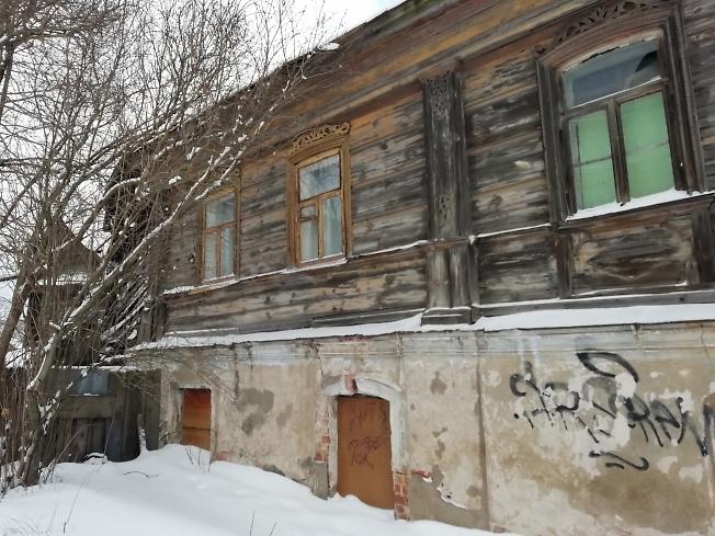 Старый дом, ул. Воробьевская
