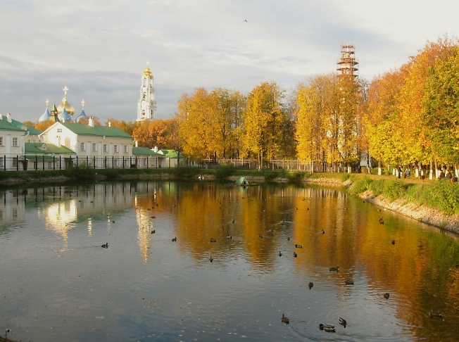Утро у Белого пруда