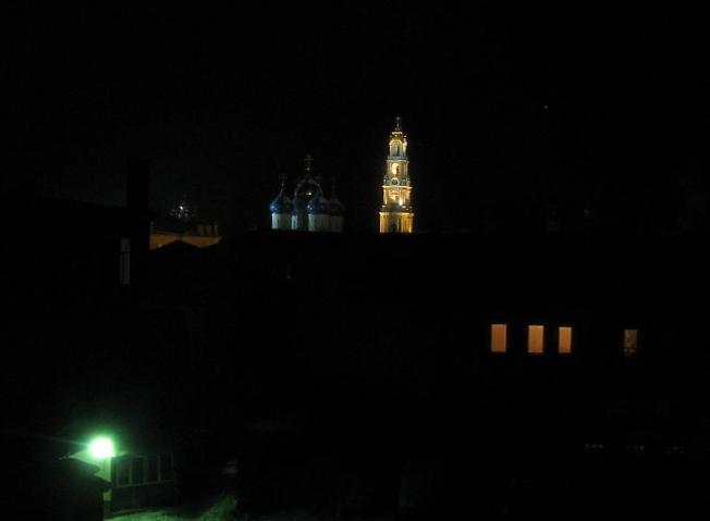 Ночью в Посаде