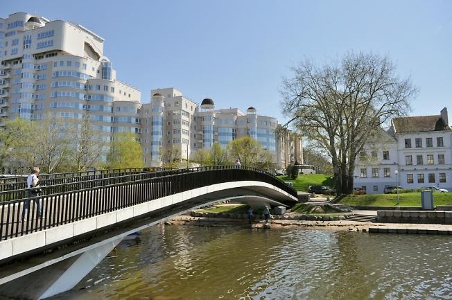 Минск, мост